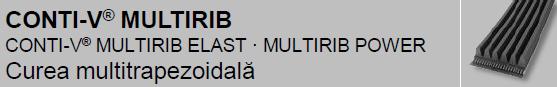 CONTI-V® MULTIRIB Curele mutitrapezoidale