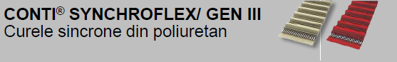 CONTI® SYNCHROFLEX GEN III Curele sincrone din poliuretan